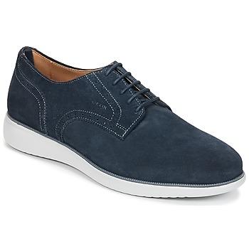 鞋子 男士 德比 Geox 健乐士 WINFRED A 海蓝色