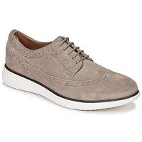 鞋子 男士 德比 Geox 健乐士 WINFRED C 灰褐色