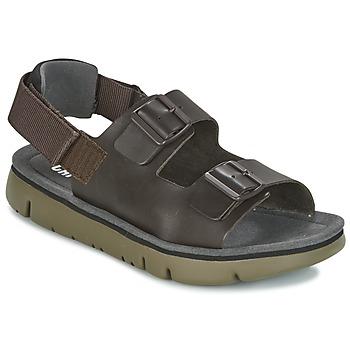 鞋子 男士 凉鞋 Camper 看步 ORUGA SANDAL 棕色