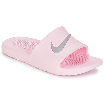 鞋子 女士 拖鞋 Nike 耐克 KAWA SHOWER SANDAL W 玫瑰色 / 灰色