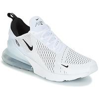 鞋子 男士 球鞋基本款 Nike 耐克 AIR MAX 270 白色 / 黑色