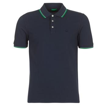 衣服 男士 短袖保罗衫 Benetton MADURI 海蓝色