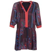 衣服 女士 短裙 Sisley CEPAME 黑色 / 红色 / 蓝色