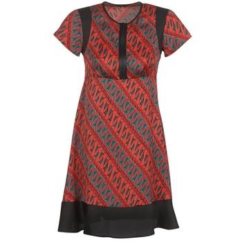 衣服 女士 短裙 Sisley ZEBRIOLO 红色 / 黑色