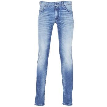 衣服 男士 紧身牛仔裤 Sisley BURLUDU 蓝色 / Edium