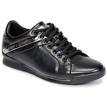 鞋子 男士 球鞋基本款 Guess NEW GEORG 黑色