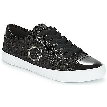 鞋子 女士 球鞋基本款 Guess ELLY 黑色