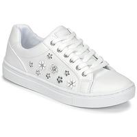 鞋子 女士 球鞋基本款 Guess JAMIT 白色