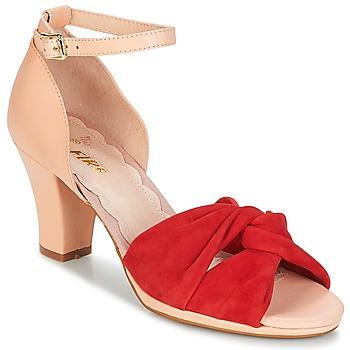 鞋子 女士 凉鞋 Miss L'Fire EVIE 红色 / 玫瑰色