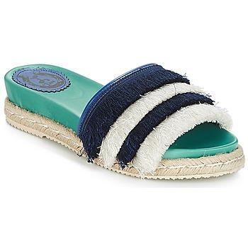 鞋子 女士 休閑涼拖/沙灘鞋 Miss L'Fire ZOEY 海藍色 / 綠色