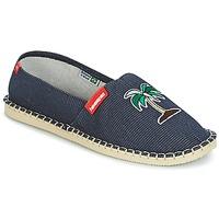 鞋子 帆布便鞋 Havaianas 哈瓦那 ORIGINE FUN 藍色