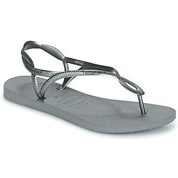 鞋子 女士 人字拖 Havaianas 哈瓦那 LUNA 銀灰色