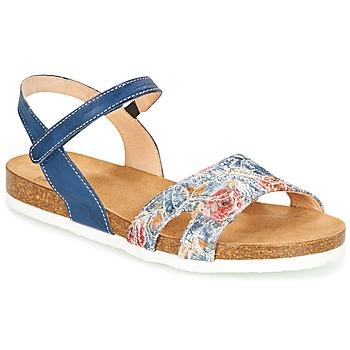鞋子 女士 凉鞋 Think ZIFUDEKE 蓝色