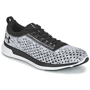 鞋子 男士 球鞋基本款 Under Armour 安德玛 CHARGED LIGHTNING 3 黑色 / 白色