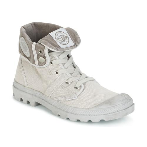 鞋子 男士 短筒靴 Palladium 帕拉丁 US BAGGY 金属银