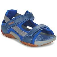 鞋子 男孩 凉鞋 Camper 看步 OUS 蓝色