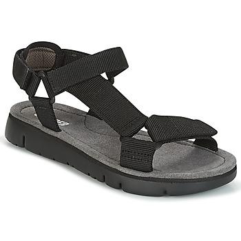 鞋子 女士 凉鞋 Camper 看步 ORUGA SANDAL 黑色