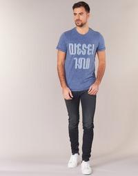 衣服 男士 牛仔铅笔裤 Diesel 迪赛尔 SLEENKER 蓝色