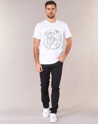 衣服 男士 紧身牛仔裤 Diesel 迪赛尔 THOMMER 黑色