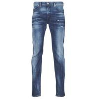衣服 男士 紧身牛仔裤 Diesel 迪赛尔 THOMMER 蓝色