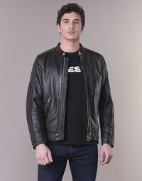 衣服 男士 皮夹克/ 人造皮革夹克 Diesel 迪赛尔 L SQUAD 黑色