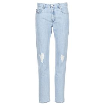 衣服 女士 直筒牛仔裤 Diesel 迪赛尔 NEEKHOL 蓝色