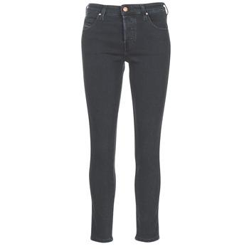 衣服 女士 直筒牛仔裤 Diesel 迪赛尔 BABHILA 黑色