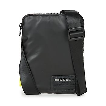 包 男士 小挎包 Diesel 迪赛尔 DISCOVER SMALLCROSS 黑色