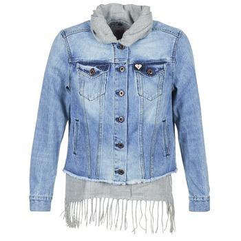 衣服 女士 牛仔外套 Maison Scotch XAOUDE 蓝色 / 米色 / 灰色
