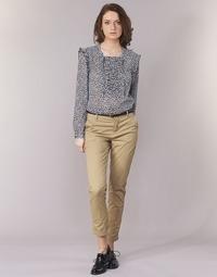 衣服 女士 休闲裤 Maison Scotch BEIBEO 米色