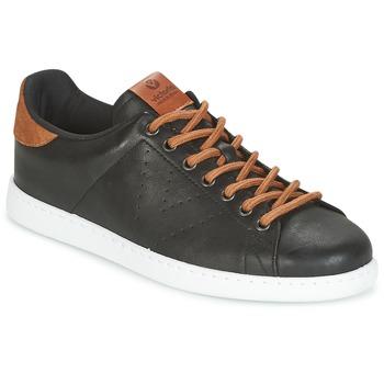 鞋子 男士 球鞋基本款 Victoria 维多利亚 DEPORTIVO PU CONTRASTE 黑色