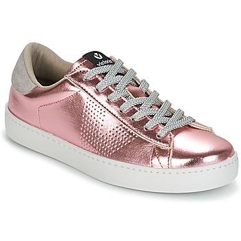 鞋子 女士 球鞋基本款 Victoria 维多利亚 DEPORTIVO METALIZADO 玫瑰色