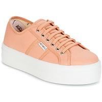 鞋子 女士 球鞋基本款 Victoria 维多利亚 BLUCHER LONA PLATAFORMA 橙色