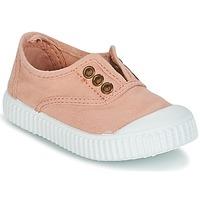 鞋子 女孩 球鞋基本款 Victoria 维多利亚 INGLESA LONA TINTADA 玫瑰色
