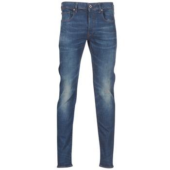 衣服 男士 紧身牛仔裤 G-Star Raw 3301 SLIM 蓝色