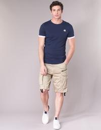 衣服 男士 短裤&百慕大短裤 G-Star Raw ROVIC ZIP LOOSE 1/2 米色