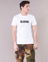 衣服 男士 短袖体恤 G-Star Raw HOLORN R T S/S 白色
