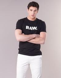衣服 男士 短袖体恤 G-Star Raw HOLORN R T S/S 黑色