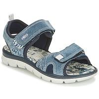 鞋子 男孩 凉鞋 Primigi RAPASTIC 蓝色
