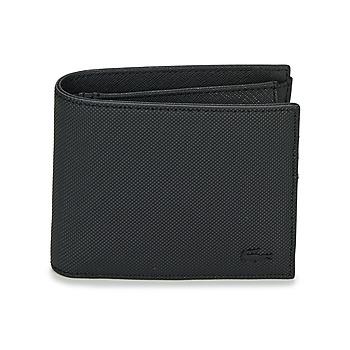 包 男士 钱包 Lacoste MEN'S CLASSIC 黑色