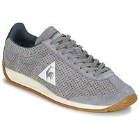 鞋子 男士 球鞋基本款 Le Coq Sportif 乐卡克 QUARTZ PERFORATED NUBUCK 灰色