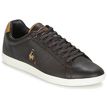 鞋子 男士 球鞋基本款 Le Coq Sportif 乐卡克 COURTCRAFT S LEA 黑色