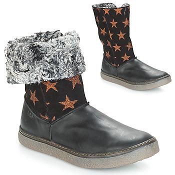 鞋子 女孩 都市靴 Achile DUBROVNIK 黑色 / 铜色