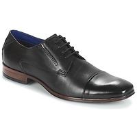 鞋子 男士 德比 Bugatti  黑色