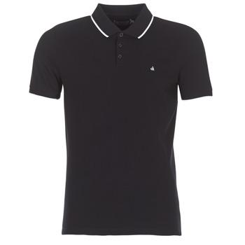 衣服 男士 短袖保罗衫 Calvin Klein Jeans PAUL 2 SLIM 黑色
