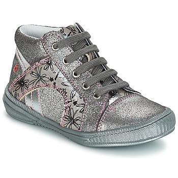 鞋子 女孩 短筒靴 GBB ROSETTA 银灰色