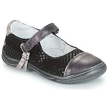 鞋子 女孩 平底鞋 GBB RIKA 灰色 / 黑色