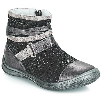 鞋子 女孩 短筒靴 GBB ROCHELLE Grsi / 黑色