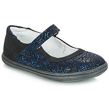 鞋子 女孩 平底鞋 GBB PLACIDA 蓝色 / 黑色