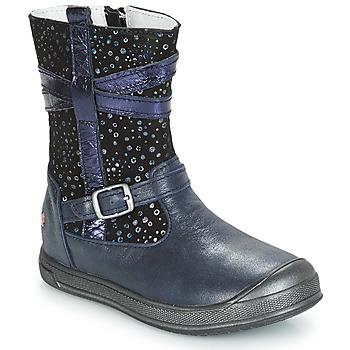 鞋子 女孩 短筒靴 GBB NARCISSE 海蓝色